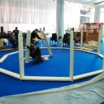 14-ridicarea structurii unei case in forma de dom Dobrosfera