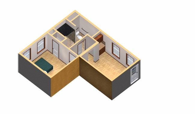 15-apartament aditional cu living dormitor chicineta si baie Ravenswood