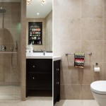 15-baie moderna finisata cu gresie si faianta bej si decorata cu mobilier negru