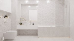 15-baie moderna spatioasa finisata in alb si ivoire proiect amenajare D3 Design