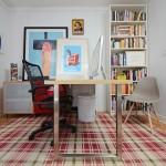 15-biroul amenajat in locul celui de-al treilea dormitor al casei compacte