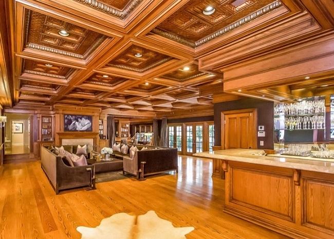 15-camera de relaxare din casa cantaretei Jennifer Lopez dupa renovare