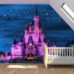 15-castel disney fototapet decorativ perete camera copil