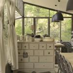 15-comoda vintage din lemn cu sertare bucatarie ferma ecologica franta