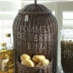15-cos impletit pentru pastrarea cartofilor in bucatarie