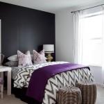 15-dormitor modern amenajat in stil scandinav cu birou de lucru langa pat