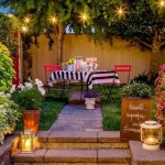 15-felinare decorative cu lumanari in amenajarea unei gradini romantice