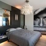 15-fototapet chip expresiv decor perete dormitor modern
