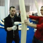 15-imbinarea elementelor ce compun structura din lemn a domului