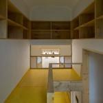 15-interior birou mic si intim mansarda casa construita in stil traditional coreean