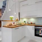 15-mobila pe trei laturi culoare alba bucatarie moderna open space