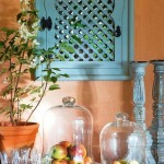 15-oblon bleu din lemn stil marocan casa amenajata in stil rustic mediteranean