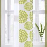 15-panouri japoneze albe cu imprimeu vernil decor de vara pentru ferestre