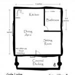 15-plan parter 25 mp casa mica din barne de lemn
