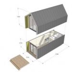 15-schita exterior si mod de asamblare module prefabricate casa Heijmans One