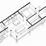 15-schita plan casa din doua containere maritime costa rica