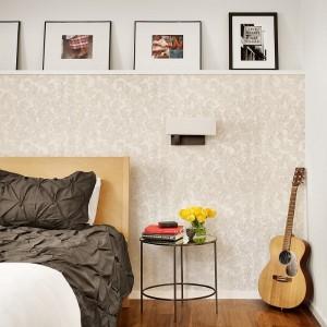 15-tapet decorativ aplicat pe o portiuende perete pentru a o scoate in evidenta