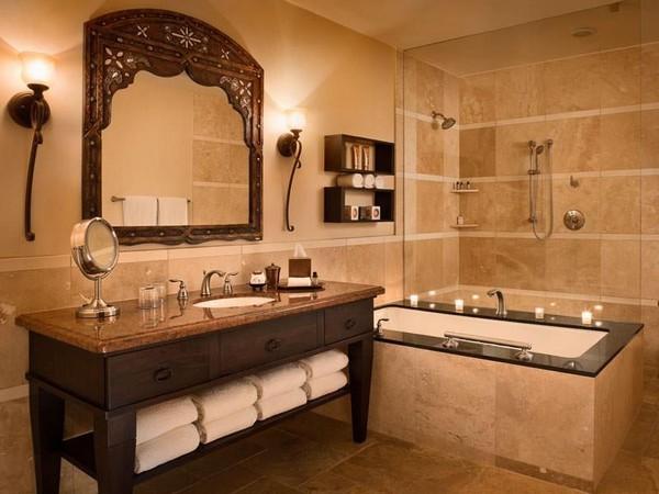 16-baie stil clasic amenajare conform regulilor Feng Shui