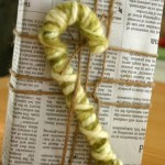 16-cadou rustic impachetat in hartie de ziar