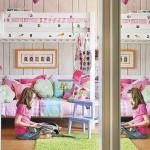 16-camera fiicei proprietarilor casei decorata in roz si alb