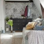 16-canapea si comoda cu sertare camera garsoniera mansarda