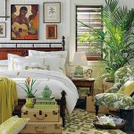 16-decor tropical dormitor in alb maro si verde