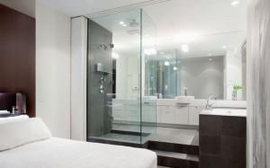 16-dormitor cu baie open space amenajare in plan deschis