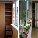16-dulapuri si spatii de depozitare proiectate in balcon ingust apartament