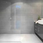 16-gresie si faianta gri deschis decor baie moderna mobila gri inchis
