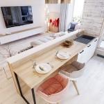 16-idee amenajare open space living mic cu bucatarie stil scandinav