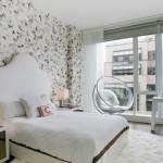 16-idei amenajare dormitor mdoern alb cu accente gri si negre