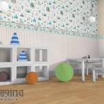 16-idei asortare tapet decorativ cu diferite tipuri si modele de imprimeu