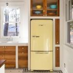 16-idei si solutii integrare frigider in decorul unei bucatarii mici