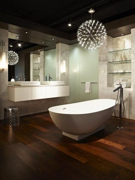 16-lustra baie moderna design deosebit