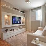 16-model ansamblu tv alb modern mobila living