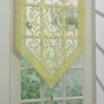 16-perdeluta delicata verde foarte pal decor usa intrare in casa