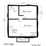 16-plan etaj 27,5 mp casa mica din barne de lemn