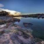 16-priveliste asupra raului Lland Texas