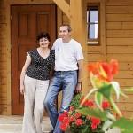16-proprietarii casei rustice din lemn polonia