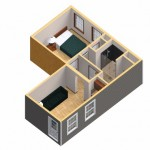 16-randare 3D apartament aditional pe colt casa pentru parinti batrani