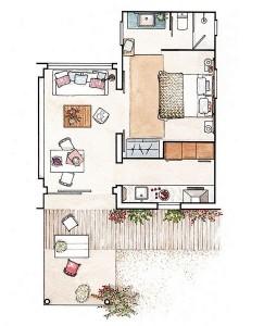 16-schita plan casa mica de vacanta Formentera Spania