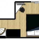 16-schita plan etaj duplex 19 mp paris