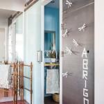 16-vedere dinspre hol spre baie apartament cu doua camere Madrid