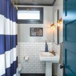 17-baie decorata in alb gri si albastru
