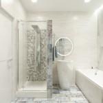 17-baie moderna apartament cu cabina de dus si cada