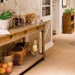 17-comoda cu sertare rustica din lemn masiv decor loc de luat masa bucatarie eco traditionala