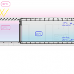 17-diagrama schita sistem ventilare mecanica sau fortata in timpuol verii casa modulara bioclimatica design NOEM Spania