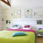 17-dormitor matrimonial decorat in culori vesele si prietenoase