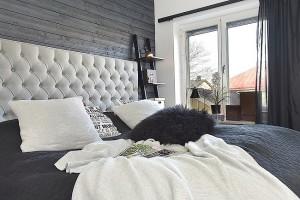 17-pat matrimonial cu tablie capitonata supradimensionata dormitor apartament modern