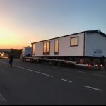 17-transport casa mobila cu tirul pana pe terenul clientului Rot Resort